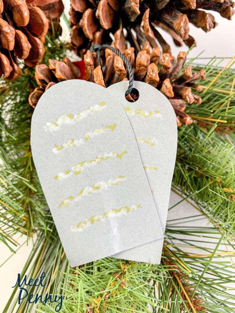 Moses / Ten Commandments - Jesse Tree ornaments
