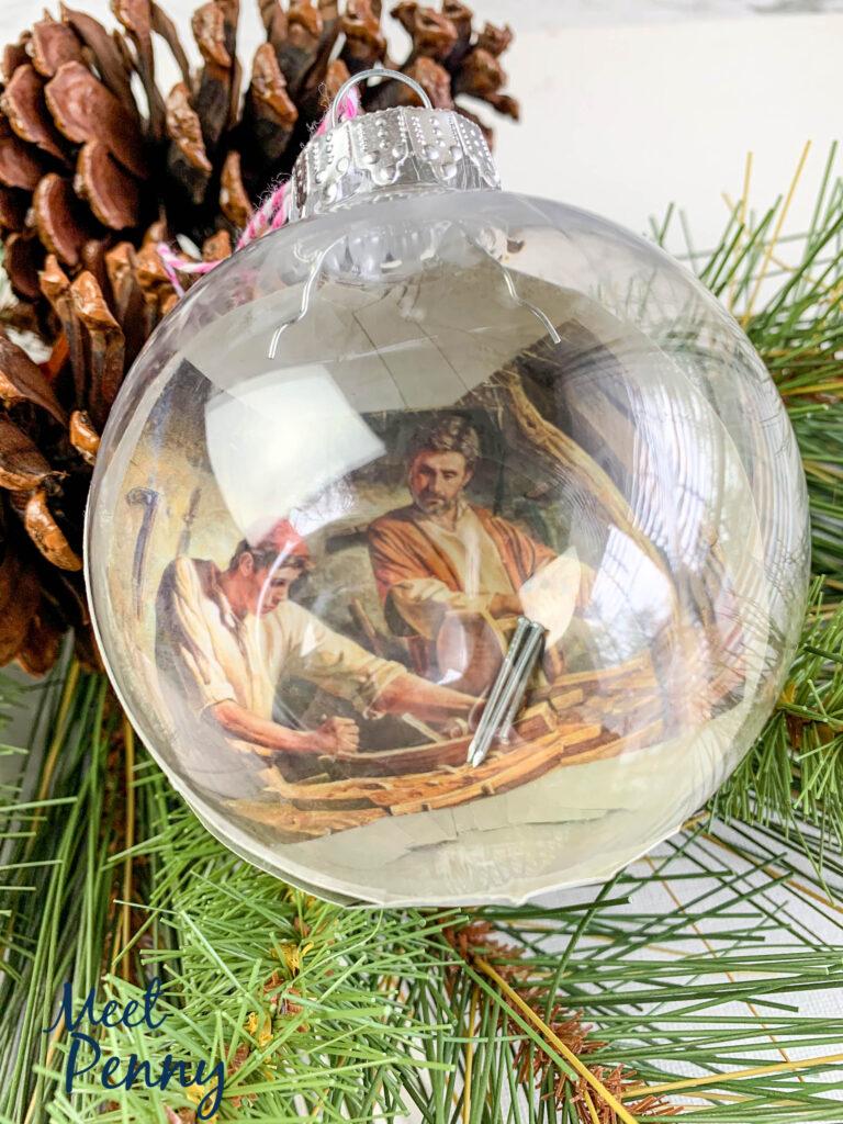 Joseph's Tools - Jesse Tree Ornaments