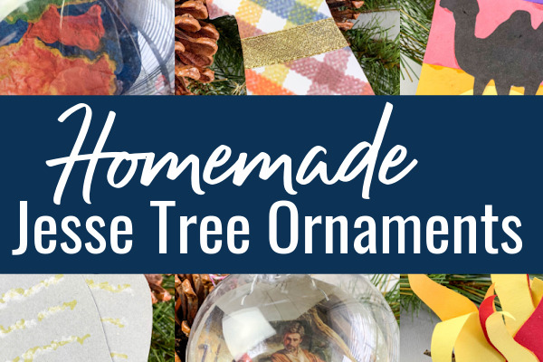 How to Make Jesse Tree Ornaments