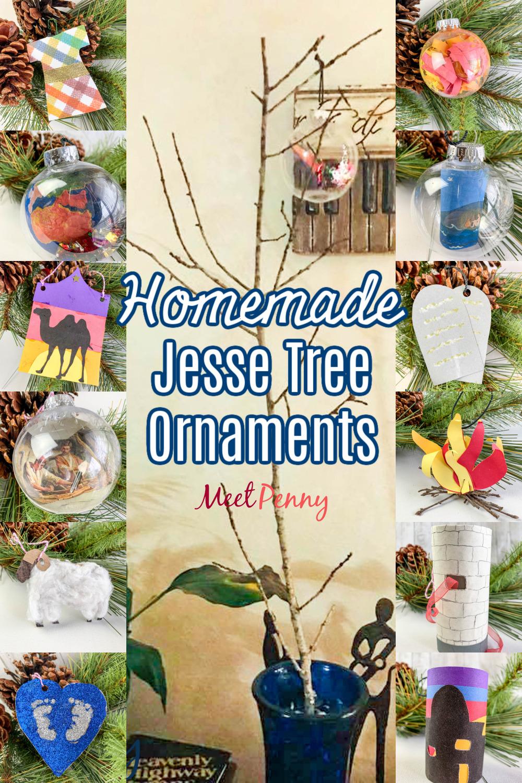 How to Make Jesse Tree Ornaments - A beautiful DIY of homemade Jesse Tree Ornaments